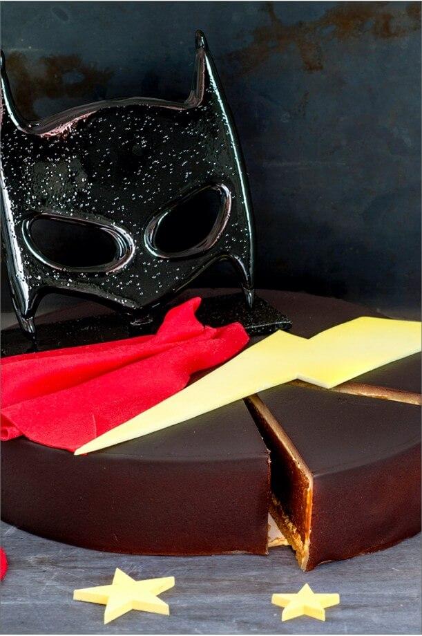 Gâteau super-héros