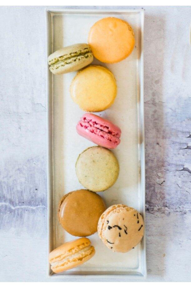 Le plateau de Macarons