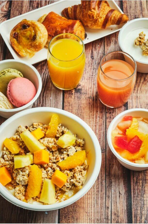 Le petit-déjeuner bowl