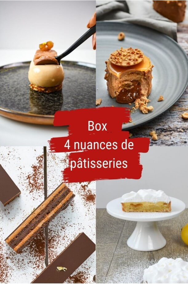 BOX 4 NUANCES DE PÂTISSERIES