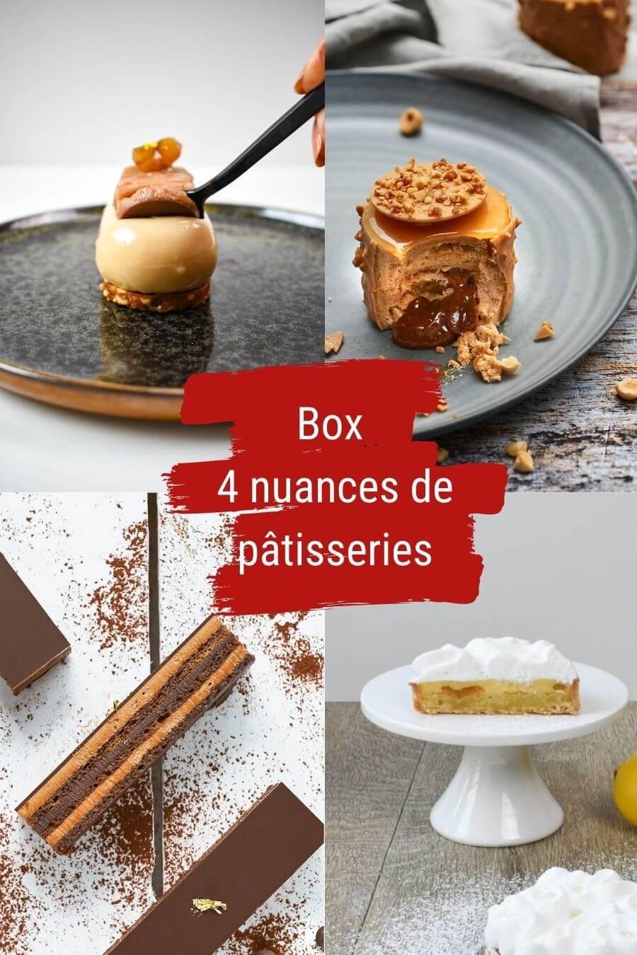 BOX 4 NUANCES DE PÂTISSERIES