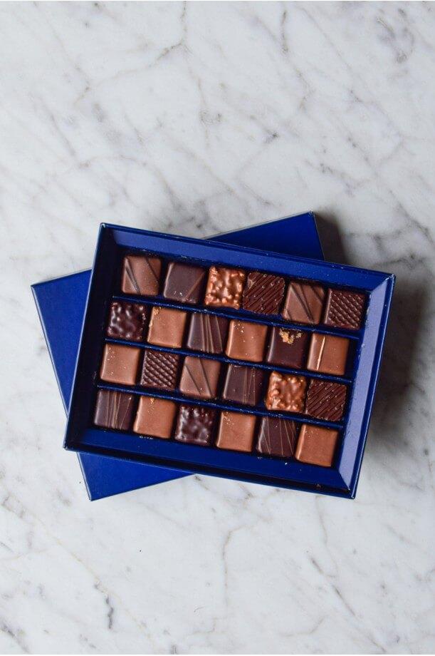 Ecrins de 24 chocolats