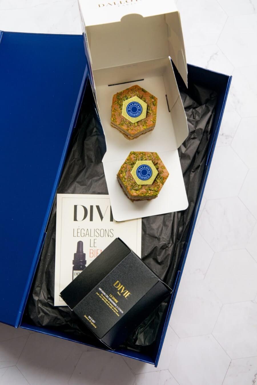 BOX DUO DIVIE X DALLOYAU