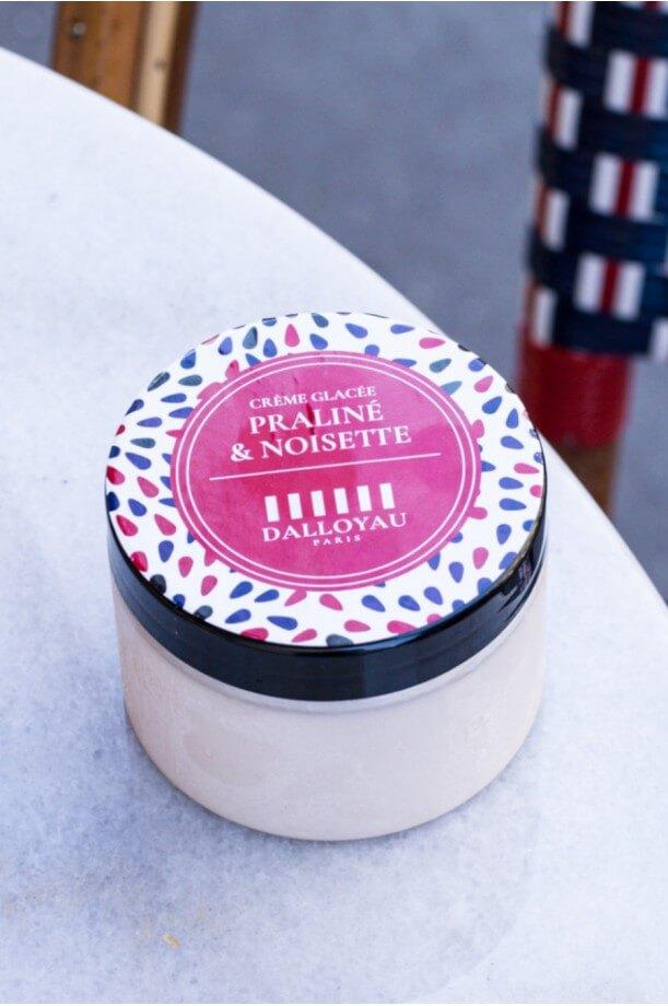 Glace praliné noisette 140 ml