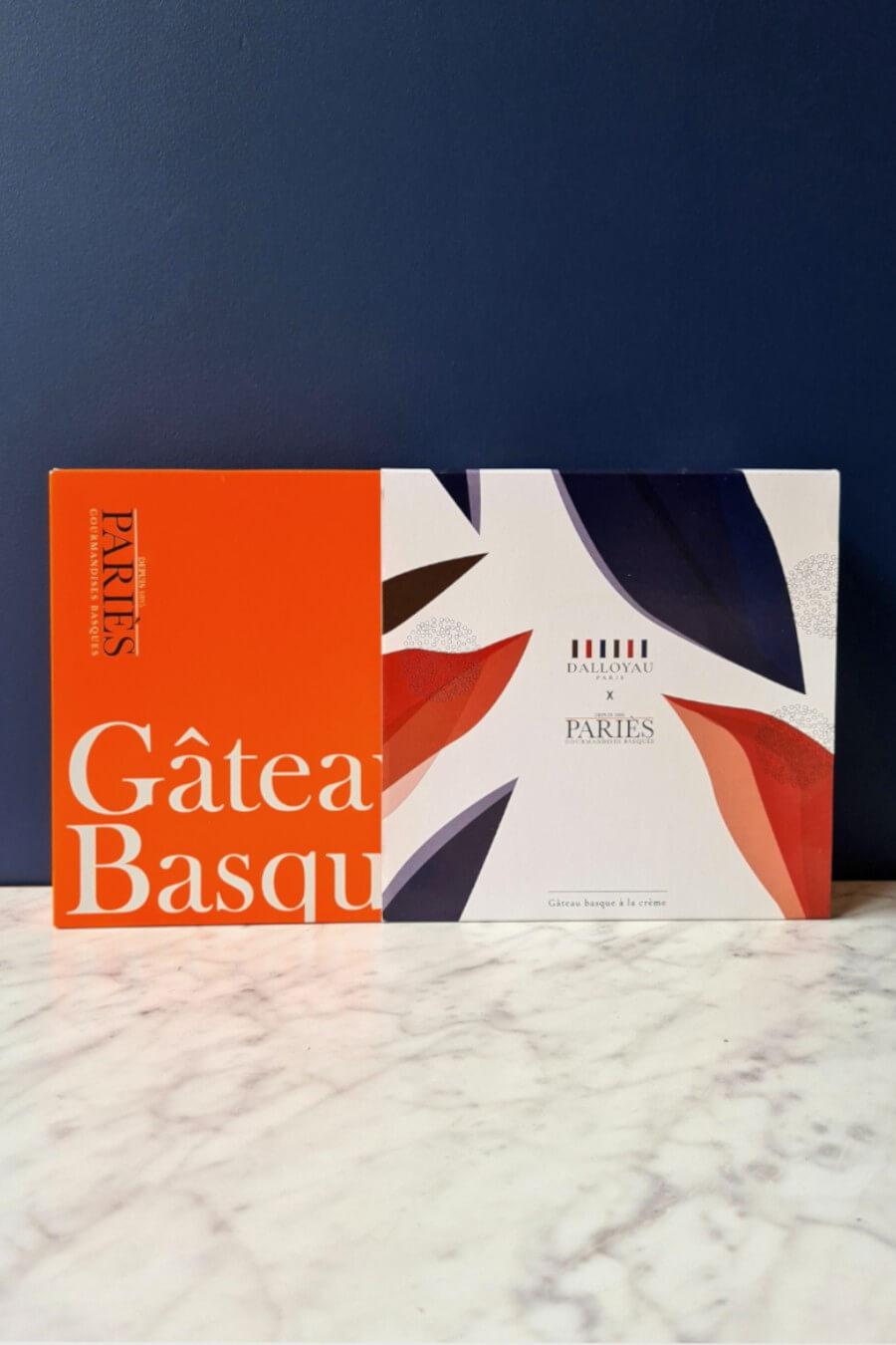 GÂTEAU BASQUE MAISON PARIèS