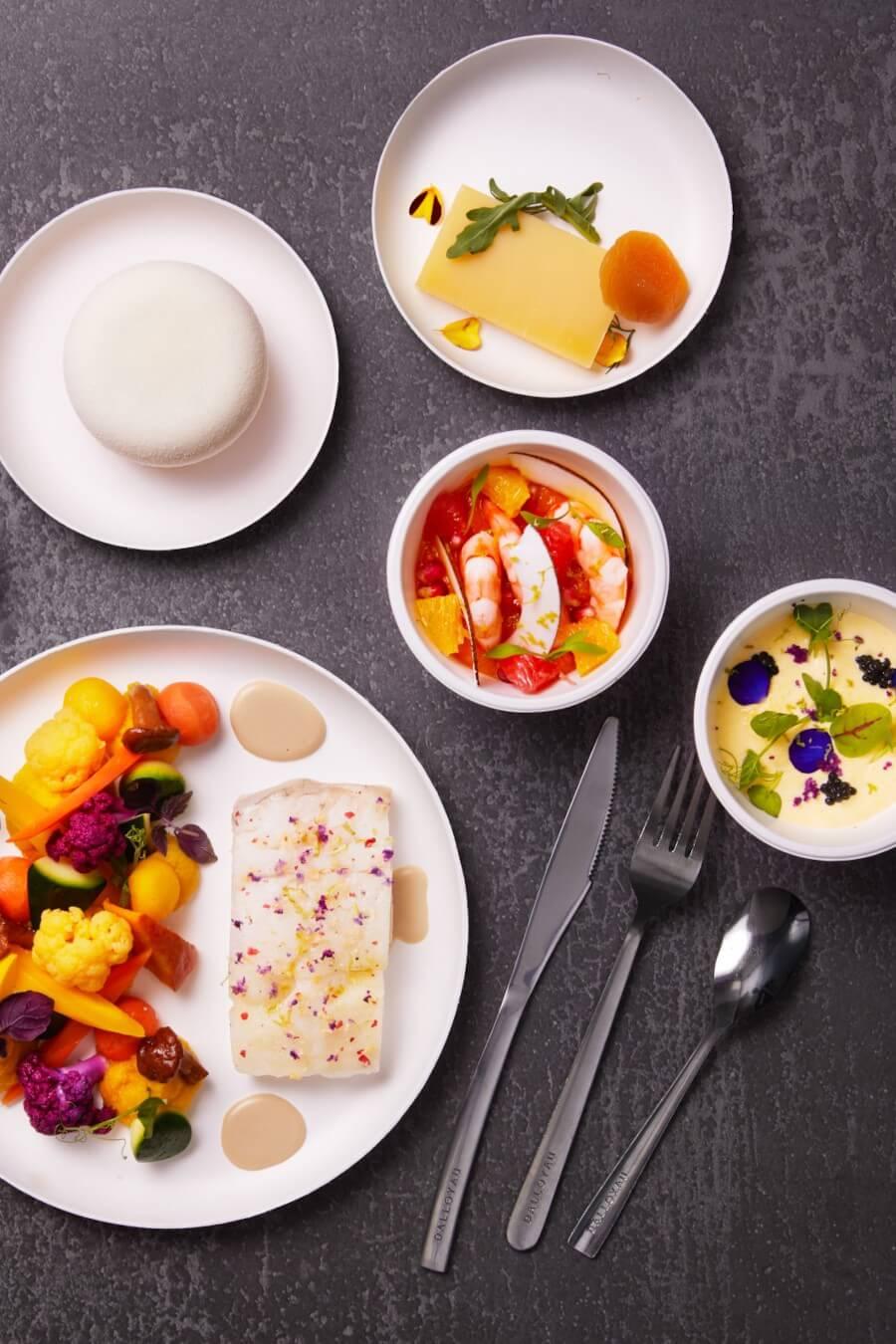 Plateaux-repas prestige mer
