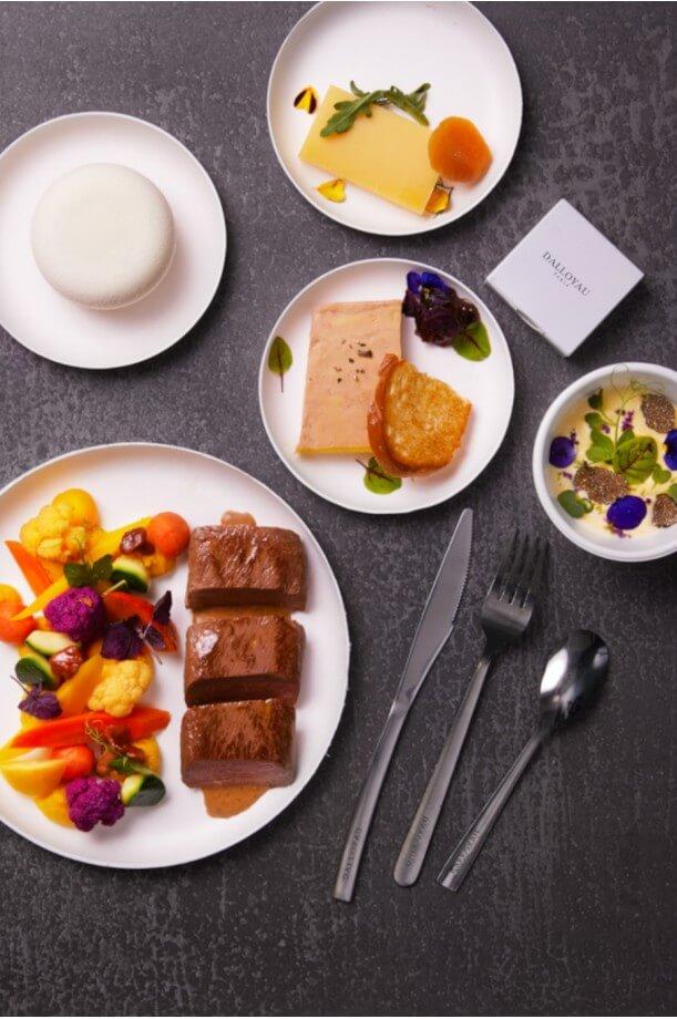 Plateaux-repas prestige terre