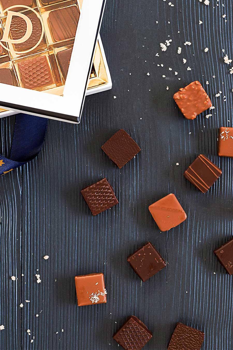 Écrins de 100 chocolats