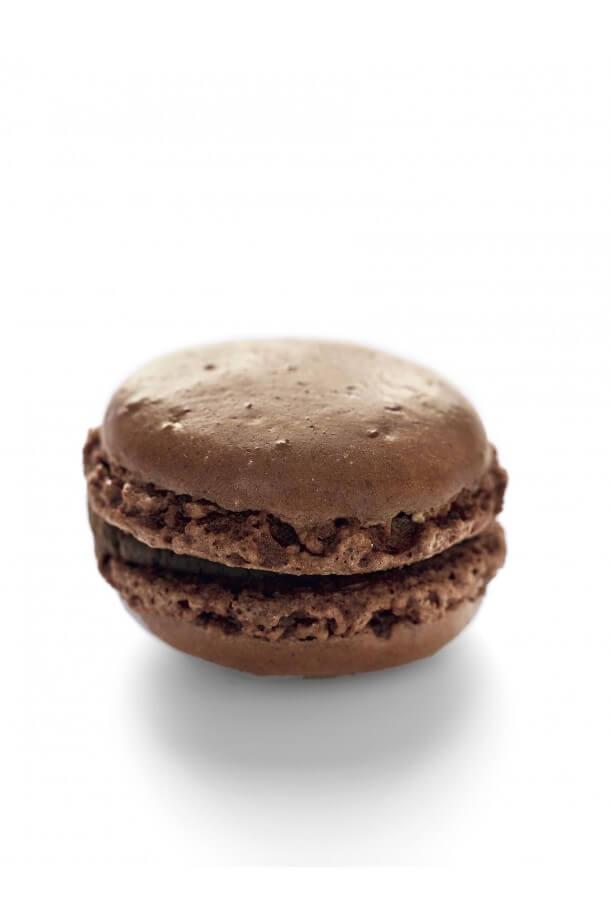 Macaron individuel chocolat