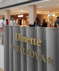 Retrouvez à l'étage de la mode femme de la @samaritaineparis , le restaurant «Dînetteby DALLOYAU ».  Avec ses 35 places assises, dont une grande table d'hôtes, le restaurant propose des plats de la gastronomie française, servis en miniature ou portion lunch : toute une gamme de produits salés et sucrés, imaginés par @pierre_koch_chef et les Chefs de la Maison DALLOYAU. Un espace propice à la détente, représentatif de l'art de vivre à la française * 📍@samaritaineparis 🍽️ Ouvert tous les jours de 10h à 19h * 📷 @phongvx * #dalloyau #SamaritaineParis #dinettebydalloyau #restaurant #ouverture #gastronomie #lunch #artdevivrealafrancaise #homard #salade #patisserie #creation #placetobe #dejeuner