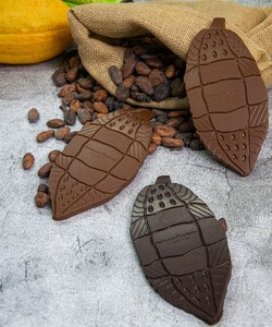 Produits exclusifs @samaritaineparis  Marqué par un voyage au Brésil durant lequel il s'était rendu dans une plantation de cacao, le Chef @jeremydelval a souhaité rendre hommage au produit brut. Il a ainsi créé une collection de 10 tablettes gourmandes et graphiques en forme de cabosse pour les afficionados de chocolat.   📍 A retrouver à l'étage de la beauté @samaritaineparis 📷 @popmyfood * * * #dalloyau #dalloyauparis #SamaritaineParis #ouverture #paris #rivoli #pastry #nouveauté #tartes #restaurant #placetobe #fashion #instafood #instagood #chocolat