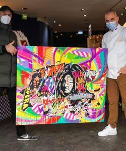 Retour en images sur le lancement de notre collaboration avec le Street Artist @jodibona ! Merci à ceux qui sont venus rencontrer les deux artistes, c'était un réel plaisir d'echanger avec vous 😇